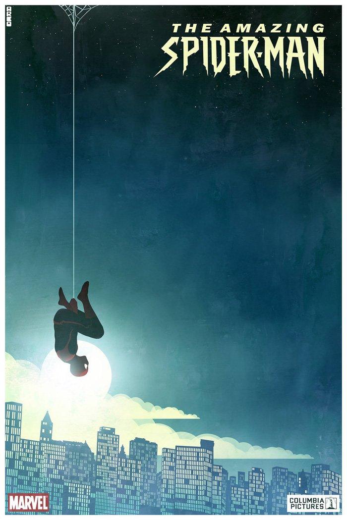 alternate amazing spiderman art