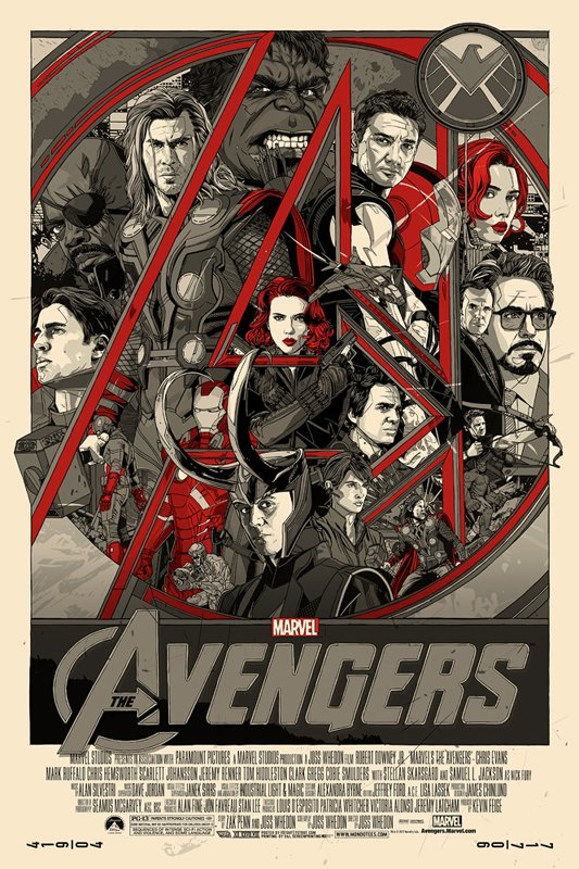 avengers assemble alternate poster design
