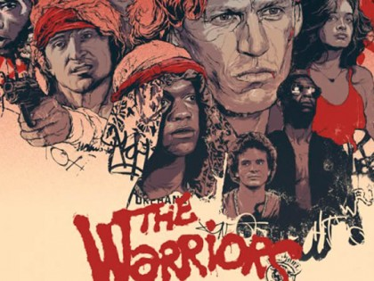 Artwork & Alternate Poster Designs for The Warriors