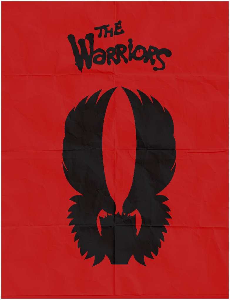 warriors minimal poster design