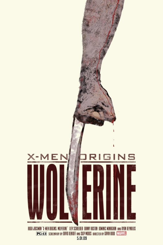 wolverine alternate film poster