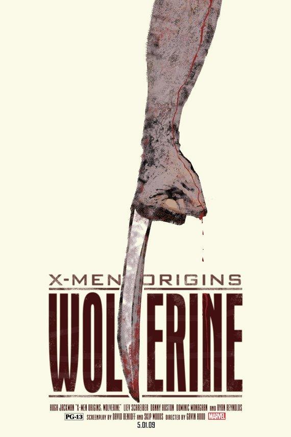 wolverine alternate film poster