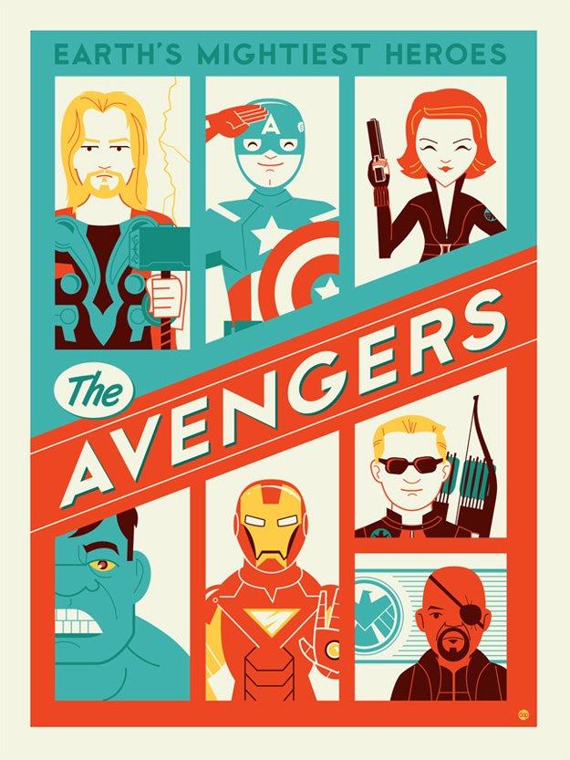 Avengers alternate poster design