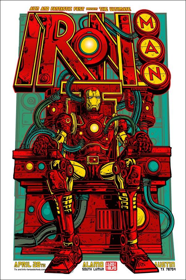 Iron Man 2 alternate poster design