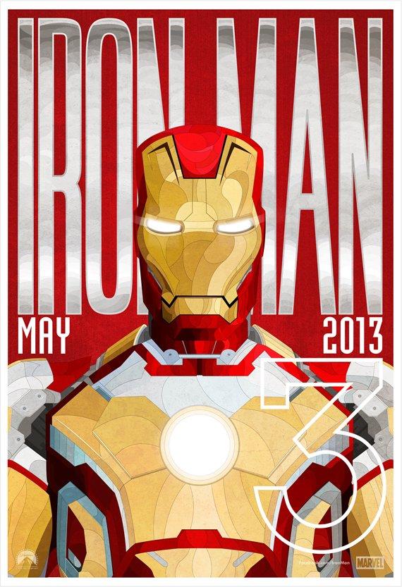 iron man 3 alternate poster design