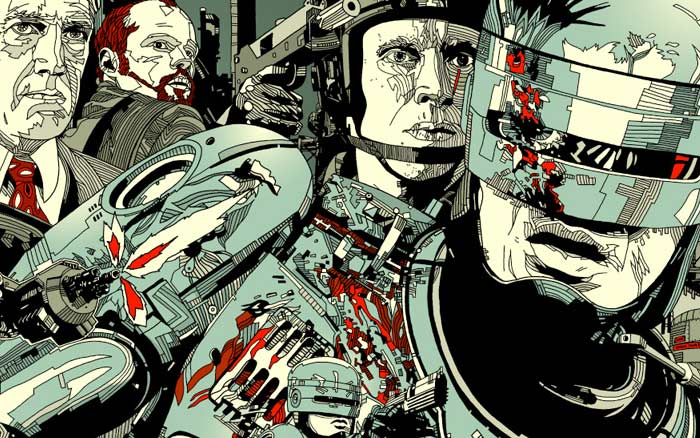 ROBOCOP ALTERNATE MOVIE POSTER DESIGNS