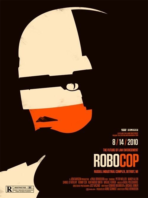Robocop Alternate Poster Design 01