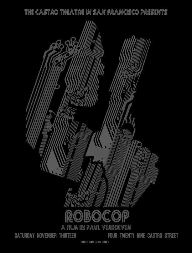 Robocop Alternate Poster Design 03