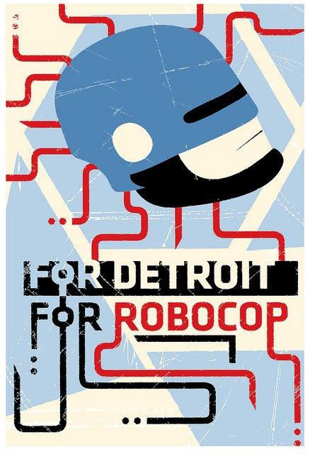 Robocop Alternate Poster Design 05