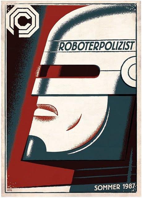 Robocop Alternate Poster Design 08