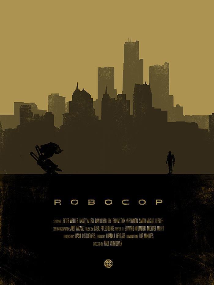 Robocop Alternate Poster Design 010
