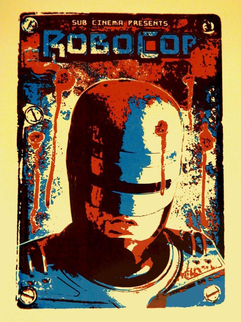 Robocop Alternate Poster Design 011