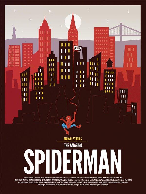 Spiderman alternate poster art