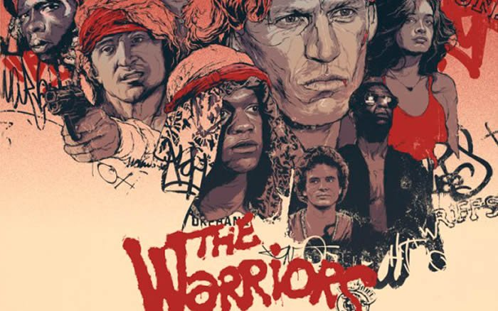 ALTERNATE POSTER DESIGN FOR THE WARRIORS MOVIE