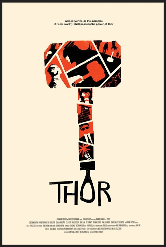 alternate thor poster