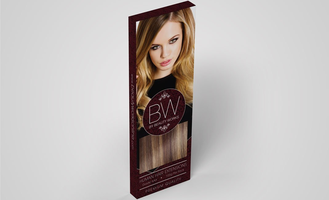 human-weft-hair-extensions-beauty-works-packaging-box-design-single