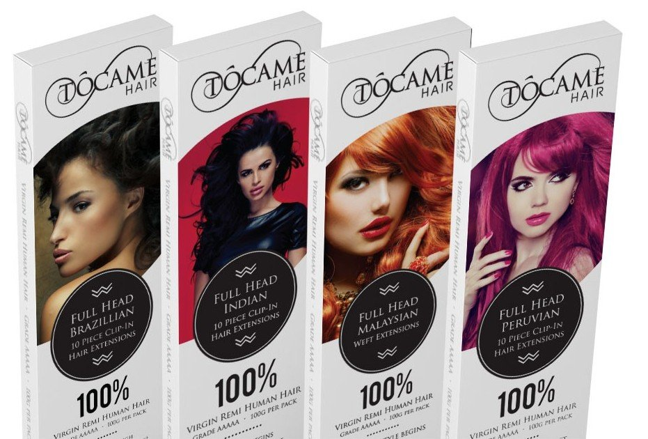 tocame-hair-extensions-packaging-design-header