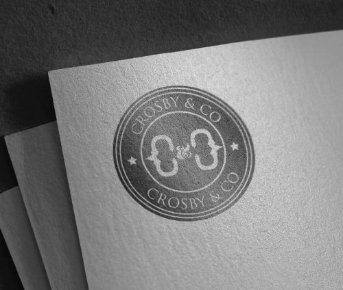 crosby&co-mens-fashion-company-logo-design