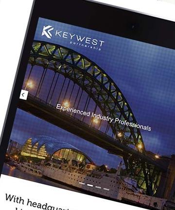 Branding and Web Design For Keywest Partnership