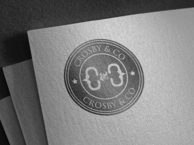 crosby&co-mens-fashion-company-logo-design