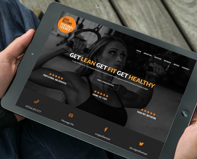 craig-williams-PERSONAL-TRAINER-WEB-DESIGN-BRANDING-DESIGN-image
