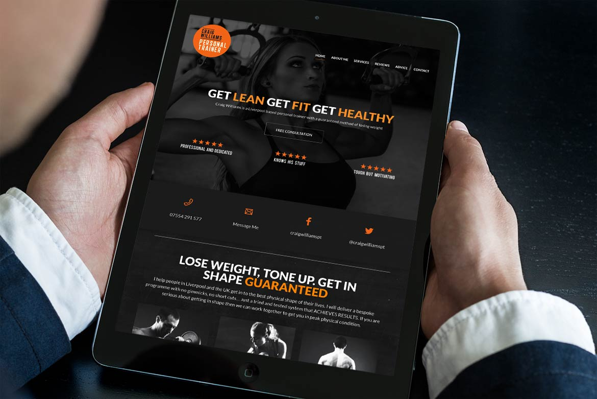 craig-williams-tablet-friendly-website-design-image