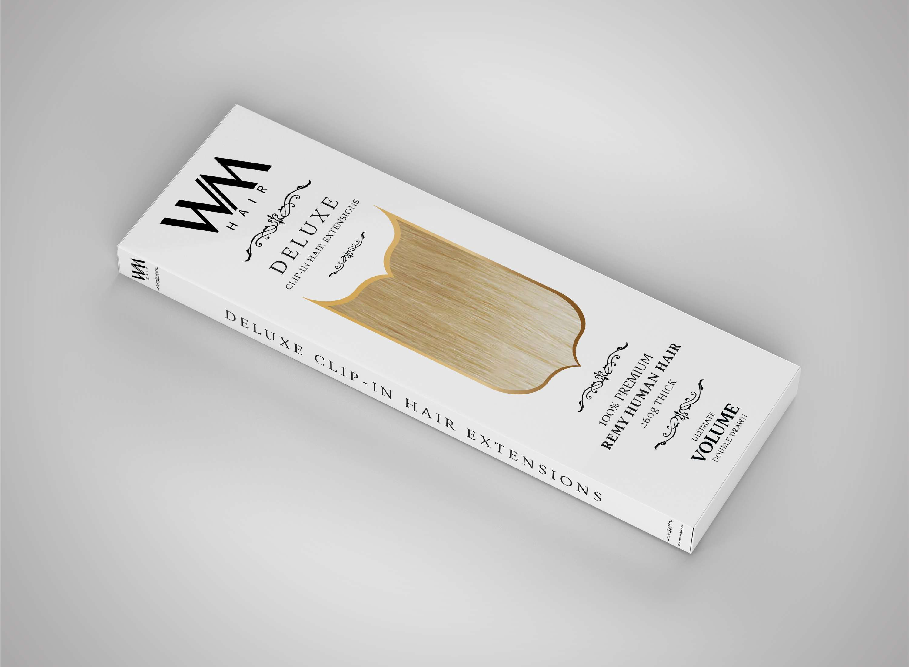 deluxe-clip-in-hair-extensions-packaging-design-remy-angled-image
