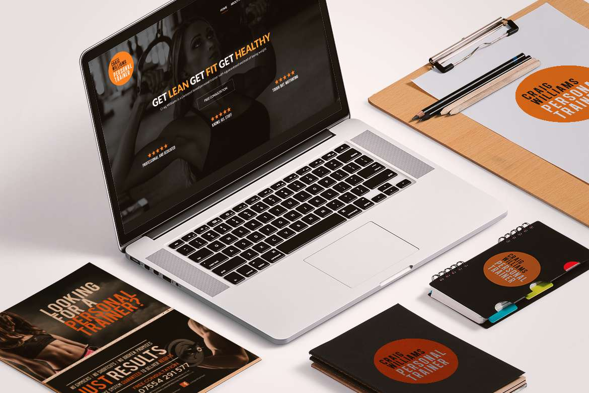branding amp web design for personal trainer in liverpool