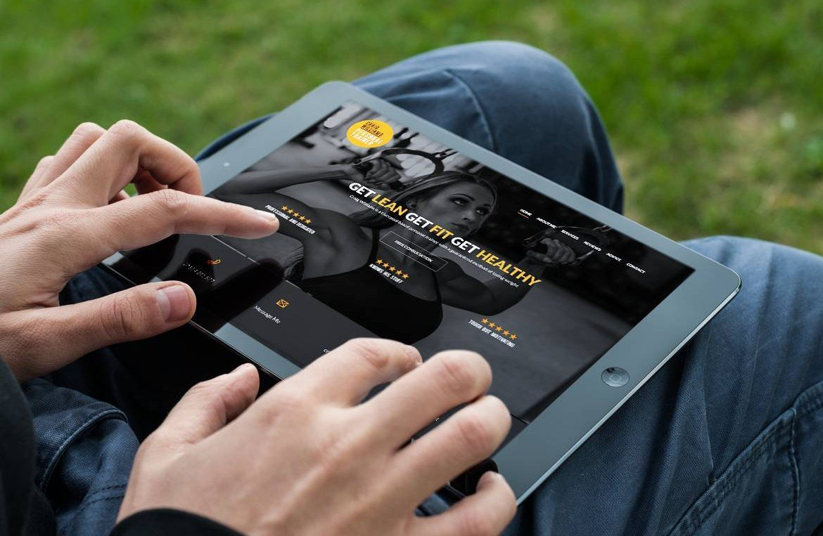 personal-trainer-mobile-friendly-website-design-ipad-image
