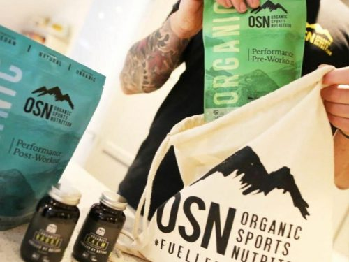 Organic Sports Nutrition Brand Identity & Packaging Design supplements and capsules
