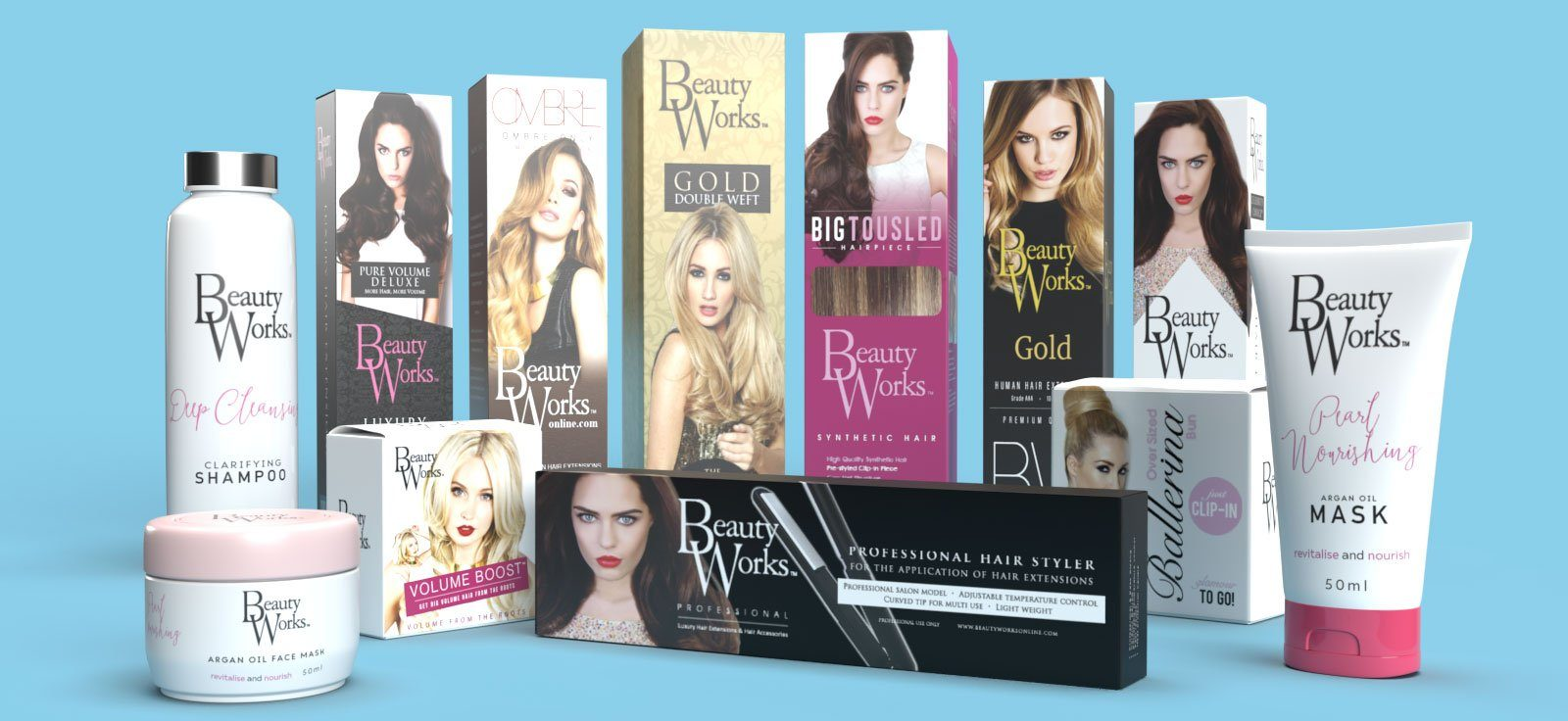 BEAUTY-works-hair-extensions-box-packaging-design-agency